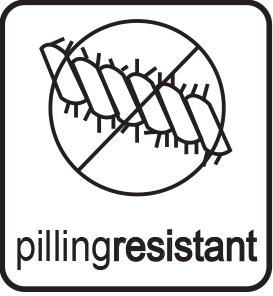Tecnología pillingresistant