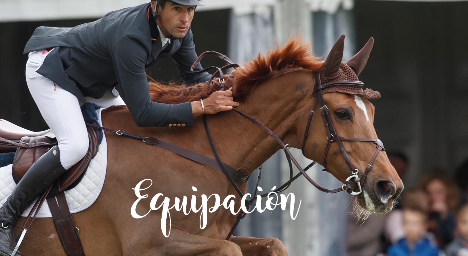 Equipación de equitación para hombre y mujer
